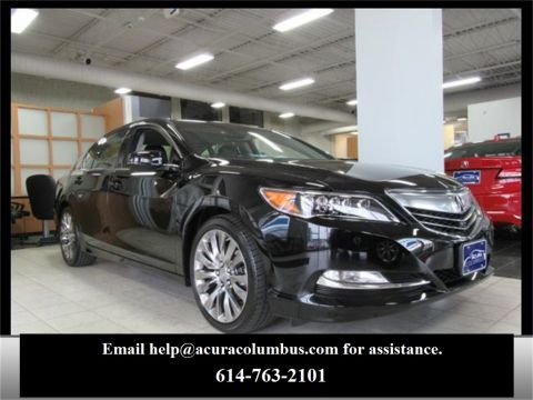 New Acura RLX with Advance Package